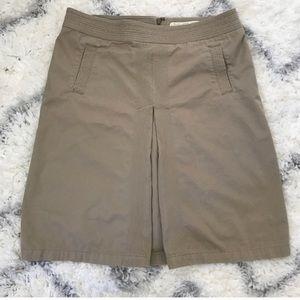 J.Crew Khaki Aline skirt (binSk2)